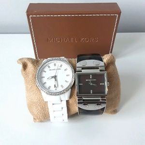 2 Michael Kors women's watches